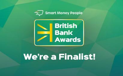 'Best Building Society' nomination at British Bank Awards 2021